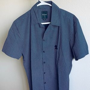 Barney Cools Mens Casual Button Down Shirt